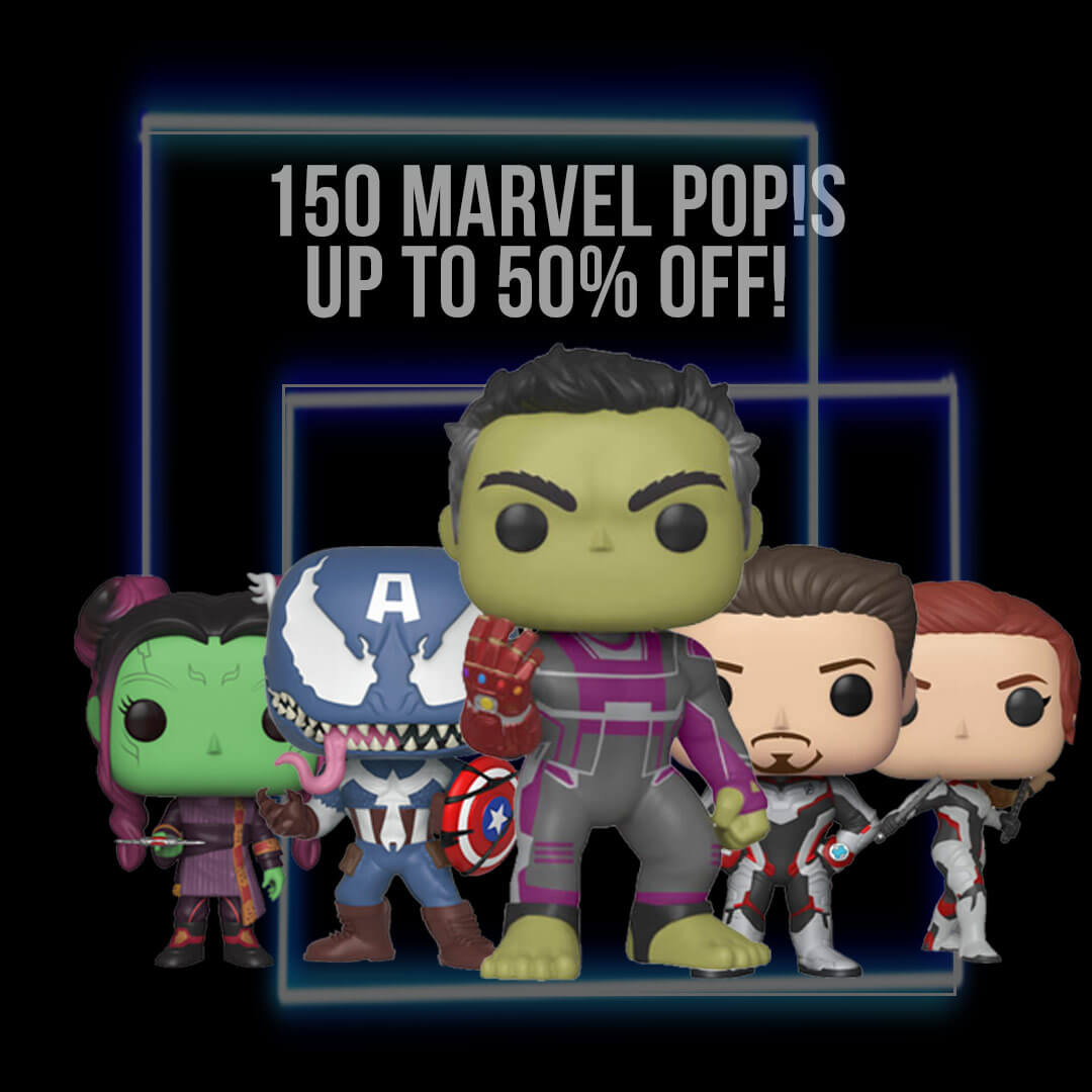 Marvel Pop in Box BF