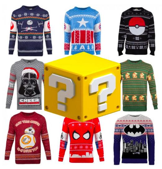 Mystery Box Merchoid Christmas Jumper