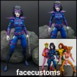 Classic 90s X Force Domino action figure